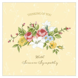 11 Free, Printable Condolence And Sympathy Cards with regard to Sympathy Card Template