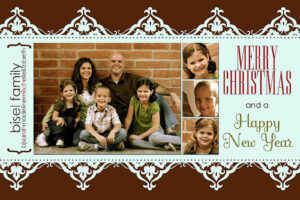 11 Free Templates For Christmas Photo Cards with Holiday Card Templates For Photographers