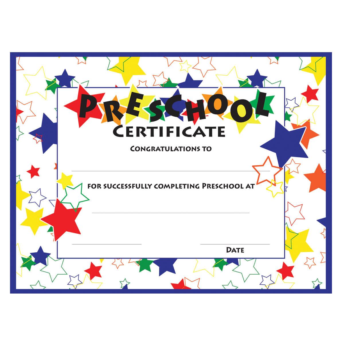 11+ Preschool Certificate Templates – Pdf | Free & Premium Pertaining To Children's Certificate Template