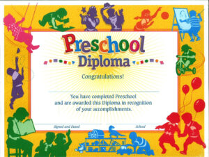 11+ Preschool Certificate Templates – Pdf | Free & Premium throughout Fun Certificate Templates