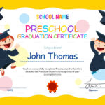 11+ Preschool Certificate Templates – Pdf   Free & Premium With Children's Certificate Template