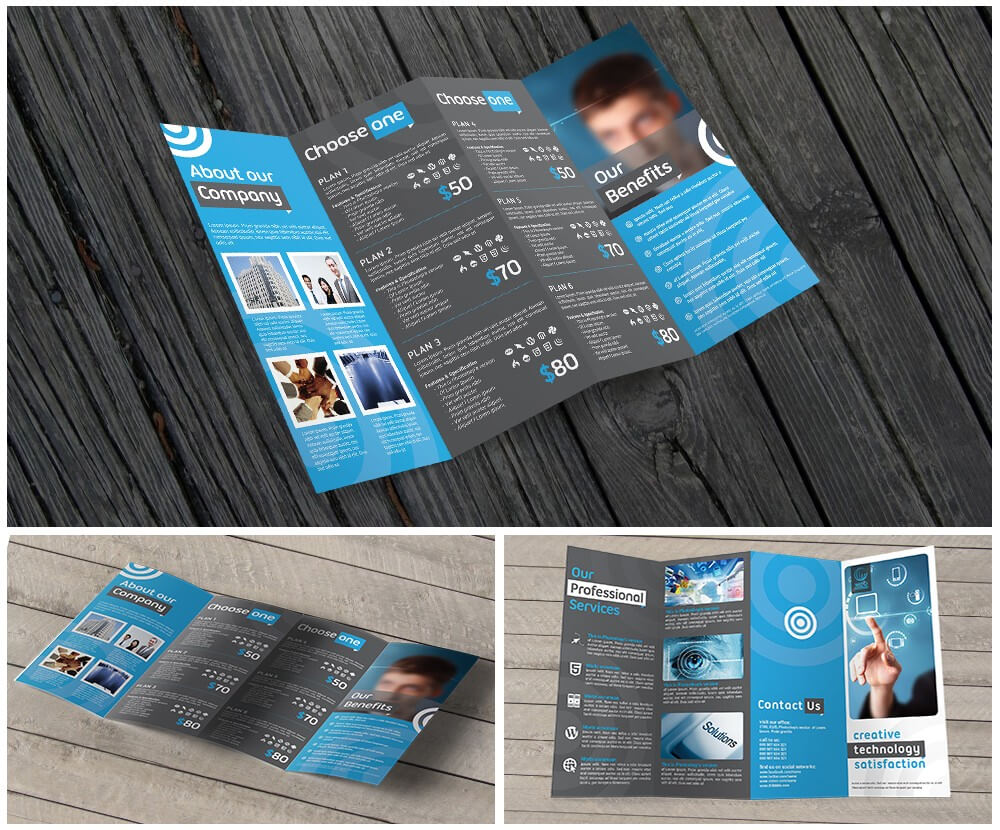 11X17 Quad Fold Brochure Printing Throughout Quad Fold Brochure Template
