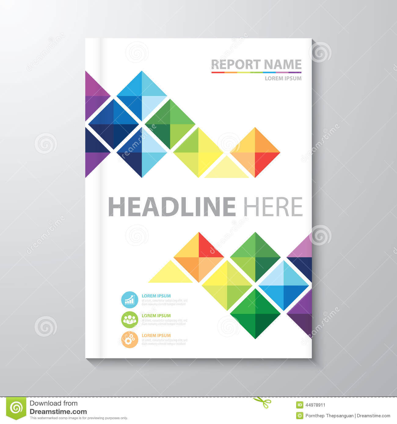 12 Annual Report Cover Page Templates Images - Annual Report With Report Cover Page Template Word