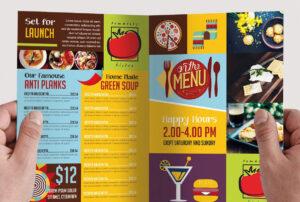 12 Attention Grabbing Bi-Fold Brochure Free Psd Templates in 2 Fold Brochure Template Psd