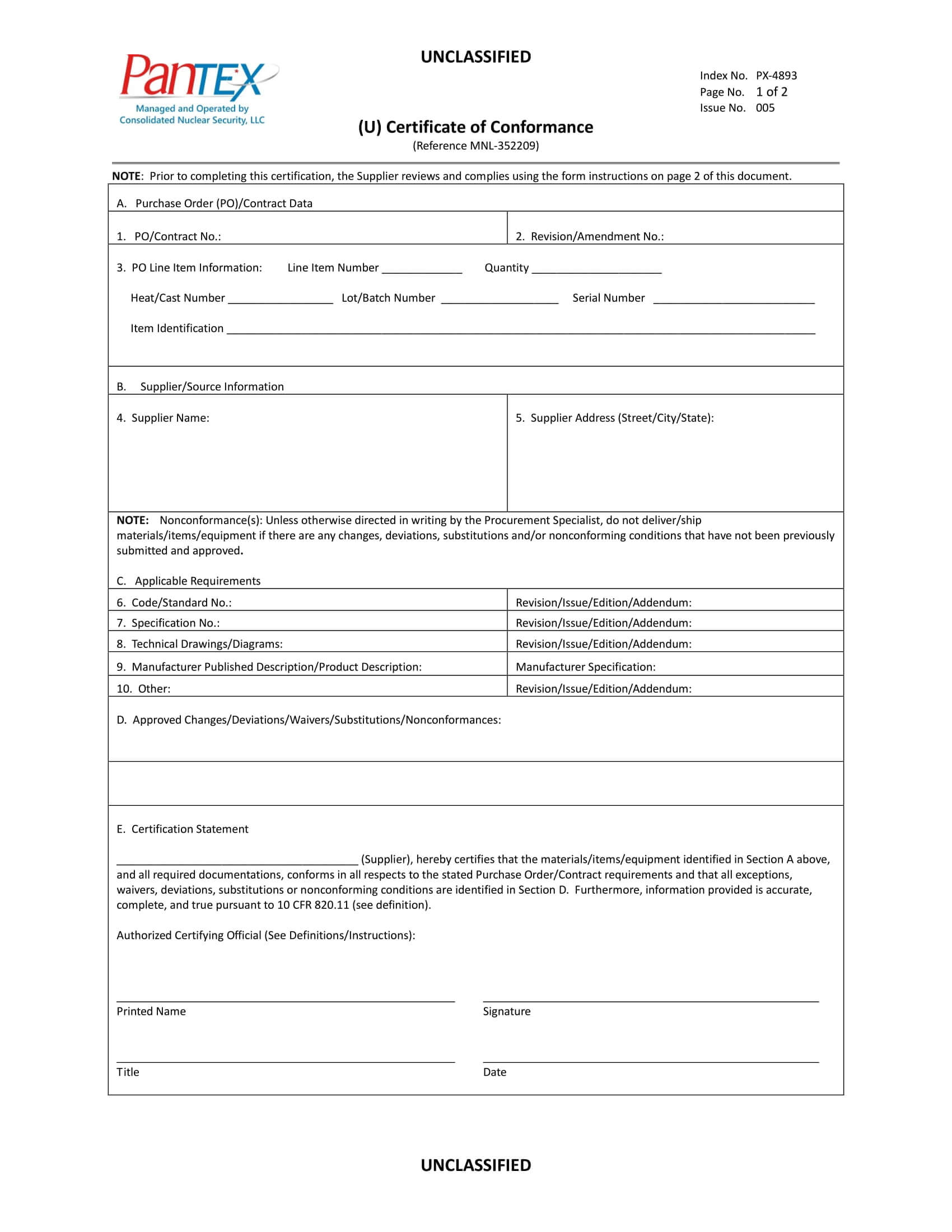 12+ Certificate Of Conformance Example – Pdf, Word, Ai With Certificate Of Compliance Template