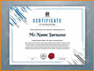 12+ Design Certificates Templates | Grittrader with regard to Design A Certificate Template