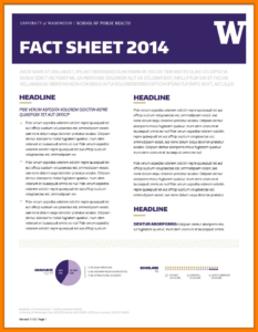 12+ Download Fact Sheet Template Microsoft Word | This Is in Fact Sheet Template Word