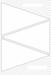 12 Free Printable Templates Pennant Banner Template regarding Free Triangle Banner Template