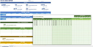 12 Free Social Media Templates | Smartsheet pertaining to Weekly Social Media Report Template