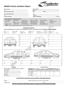 12+ Vehicle Condition Report Templates – Word Excel Samples pertaining to Car Damage Report Template