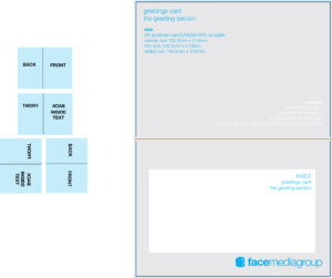 13 Microsoft Blank Greeting Card Template Images – Free 5X7 intended for Indesign Birthday Card Template