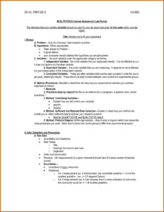 14-15 Biology Lab Report Template | Southbeachcafesf intended for Ib Lab Report Template