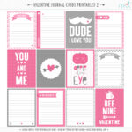 14 Days Of Free Valentine's Printables Day 6 | Misstiina For 52 Reasons Why I Love You Cards Templates Free