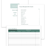 14 Free Program Management Templates | Smartsheet In Word Document Report Templates