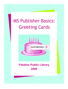 14 Happy Birthday Card Template Publisher Images – Happy in Birthday Card Publisher Template