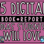 15 Digital Book Report Ideas Your Students Will Love   The For Mobile Book Report Template