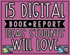 15 Digital Book Report Ideas Your Students Will Love | The for Mobile Book Report Template