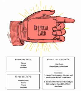 15 Examples Of Referral Card Ideas And Quotes That Work regarding Referral Certificate Template