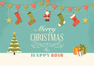 15+ Free Christmas Vector Graphics with regard to Adobe Illustrator Christmas Card Template