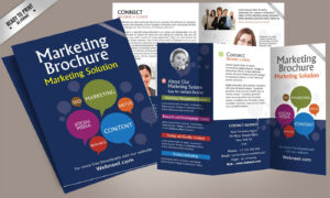 15 Free Corporate Bifold And Trifold Brochure Templates within Creative Brochure Templates Free Download