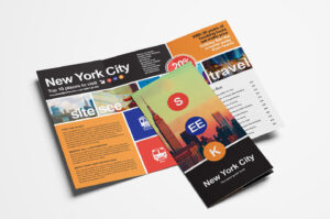 15 Free Tri-Fold Brochure Templates In Psd & Vector – Brandpacks in One Sided Brochure Template