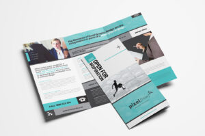 15 Free Tri-Fold Brochure Templates In Psd & Vector – Brandpacks intended for Adobe Illustrator Tri Fold Brochure Template