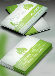 15+ Landscaping Business Card Templates – Word, Psd | Free regarding Landscaping Business Card Template