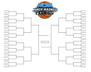 15 March Madness Brackets Designs To Print For Ncaa for Blank March Madness Bracket Template