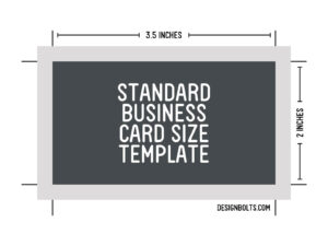 15 Psd Business Card Template Size Images – Standard regarding Business Card Size Template Psd