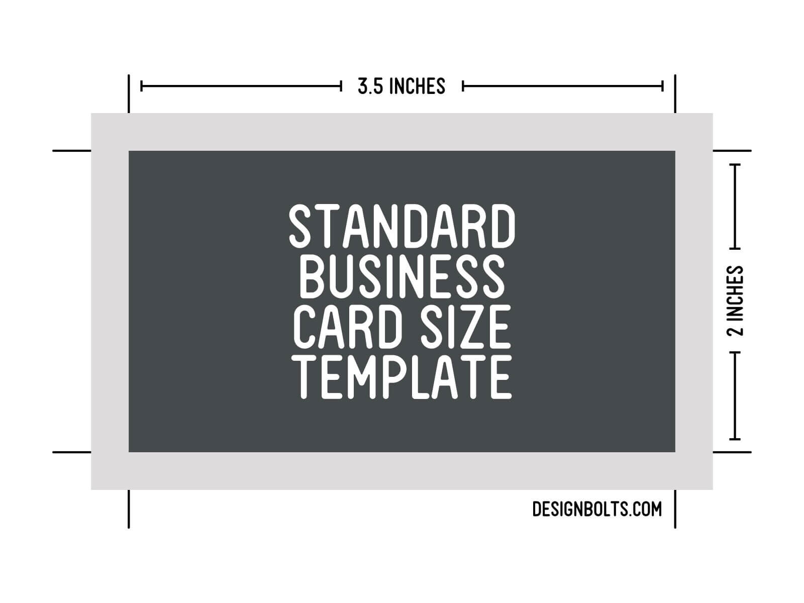 15 Psd Business Card Template Size Images - Standard Regarding Business Card Size Template Psd