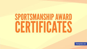 15+ Sportsmanship Award Certificate Designs & Templates pertaining to Rugby League Certificate Templates