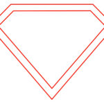 15 Superman Logo Template Images - Printable Superman Logo intended for Blank Superman Logo Template
