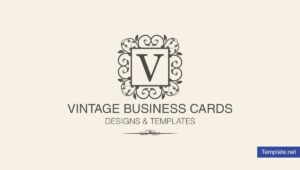 15+ Vintage Business Card Templates – Ms Word, Photoshop regarding Free Business Cards Templates For Word