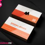 150+ Free Business Card Psd Templates Regarding Visiting Card Psd Template