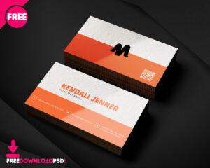150+ Free Business Card Psd Templates within Photoshop Cs6 Business Card Template
