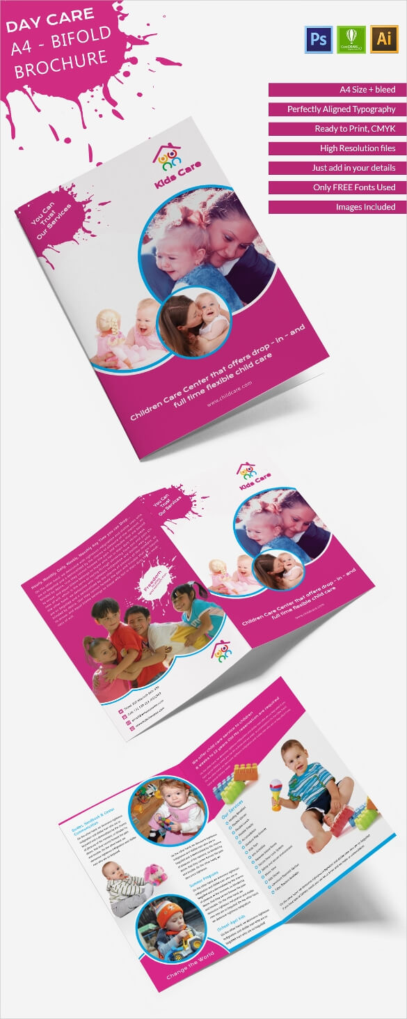 16+ Daycare Brochure Templates – Free Psd, Eps, Illustrator For Daycare Brochure Template