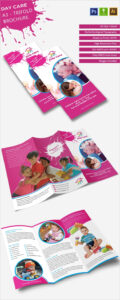 16+ Daycare Brochure Templates – Free Psd, Eps, Illustrator with Daycare Brochure Template