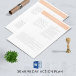 16+ Free 30 60 90 Day Plan Templates – Word, Pdf, Apple For 30 60 90 Day Plan Template Word