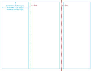 16 Free Online Tri-Fold Templates Images – Free Blank Tri with Brochure Folding Templates