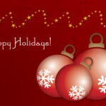16 Holiday Greeting Card Template Images – Free Christmas Intended For Holiday Card Email Template