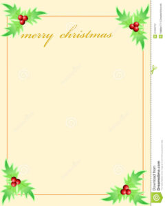 16 Holiday Greeting Card Template Images – Free Christmas regarding Blank Christmas Card Templates Free