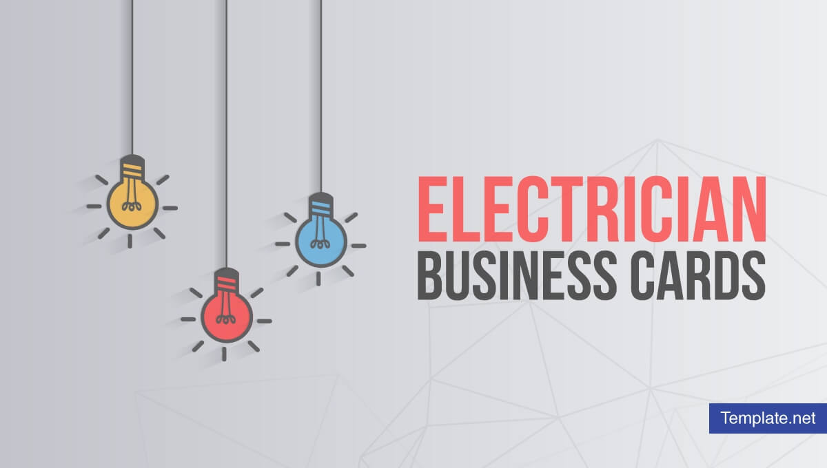 17+ Electrician Business Card Designs & Templates - Psd, Ai Pertaining To Business Cards For Teachers Templates Free