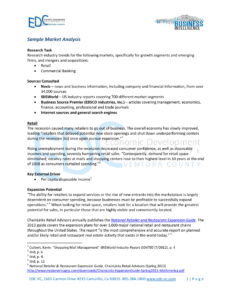 17+ Market Analysis Examples – Pdf, Word, Pages | Examples with regard to Industry Analysis Report Template