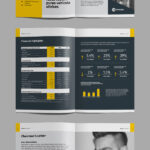 17 New Creative Brochure / Catalog Templates – Mockup Depot Pertaining To Chairman's Annual Report Template