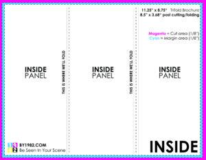 17 Tri-Fold Brochure Template Psd Images – Tri-Fold Brochure pertaining to Z Fold Brochure Template Indesign