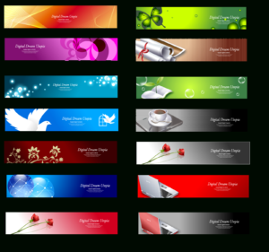 18 Banner Design Page Images – Free Web Banner Design with Website Banner Design Templates