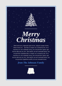 18 Free Card Templates & Examples – Lucidpress pertaining to Free Holiday Photo Card Templates