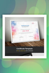 19 Attention-Grabbing Certificate Templates – Colorlib with regard to No Certificate Templates Could Be Found