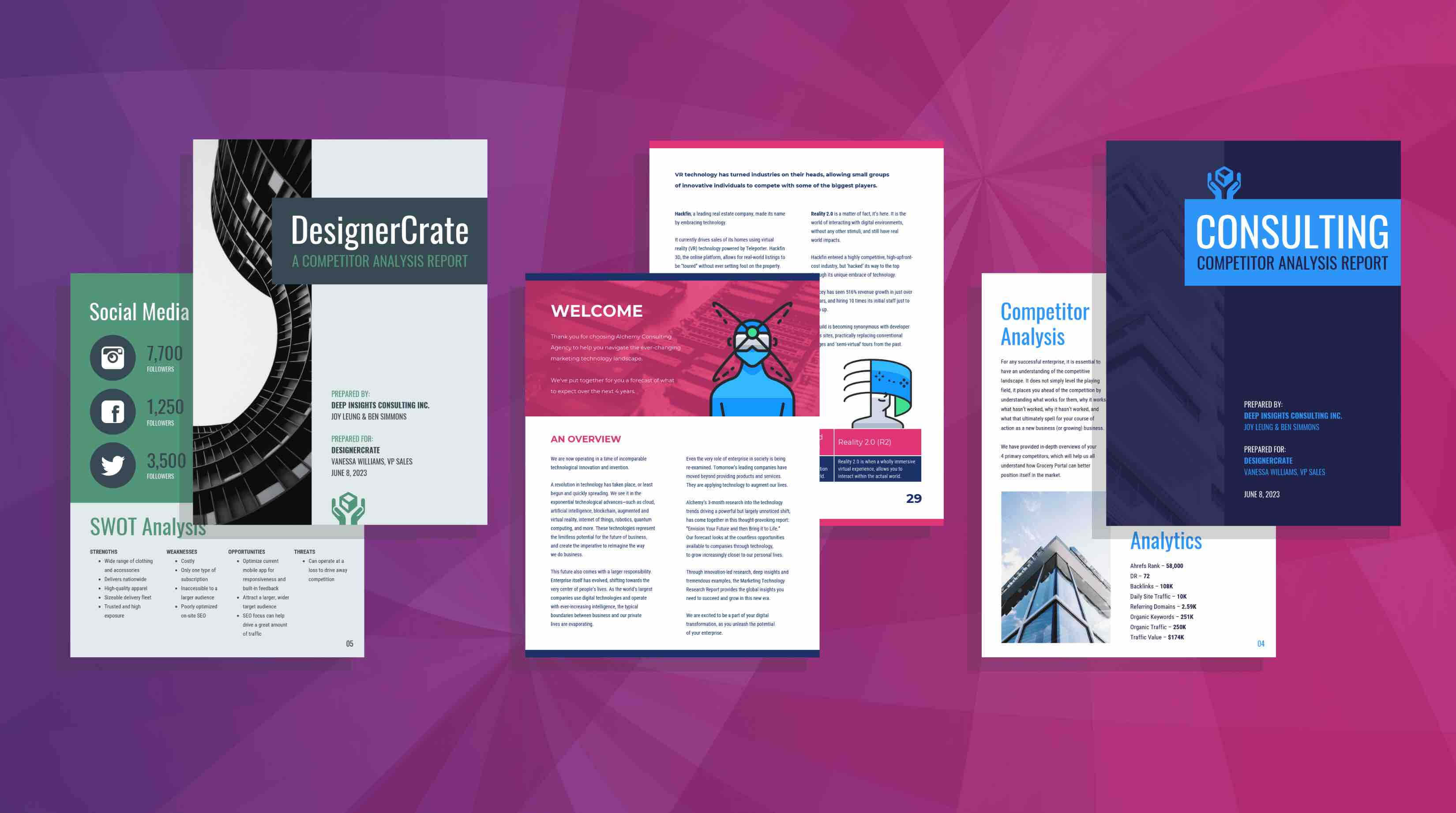19 Consulting Report Templates That Every Consultant Needs Pertaining To Consultant Report Template