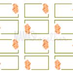 19 Elegant & Fun Printable Place Cards | Kittybabylove Regarding Thanksgiving Place Card Templates